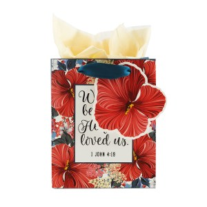 He First Loved Us (Extra Small Gift Bag)
