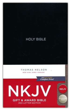 NKJV Gift & Award Comfort Print Black Package