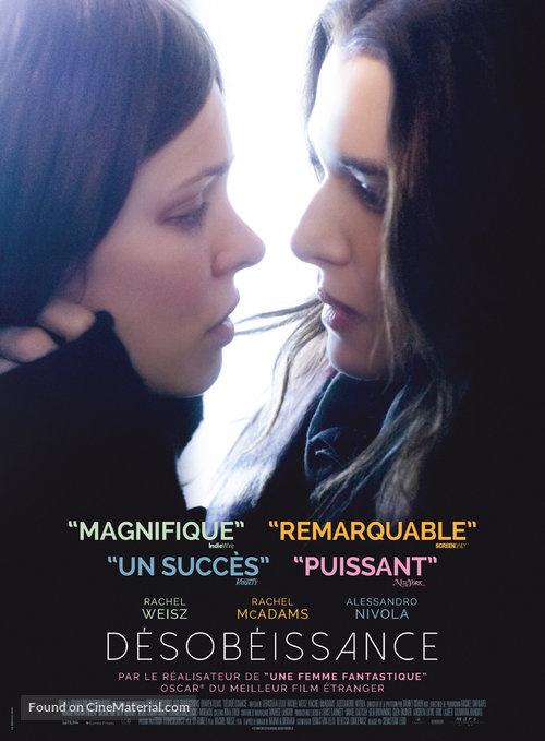"""CINEMA: """"Désobéissance"""" – Un Film Froid Sur Un Amour Chaud"""