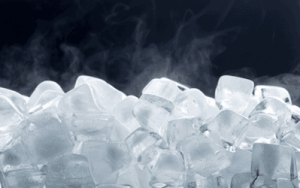 Dry Ice with Crystal Ice in Los Angeles
