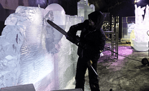 Ice Sculpture Delivery in Los Angeles