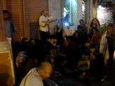 One of the many random gatherings of musicians in the alleys of Hamra.