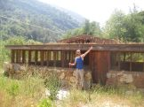 Michael claimed the chicken coop.