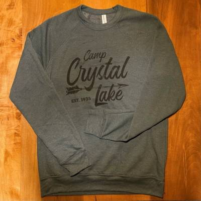 2020 Camp Crystal Lake Cozy Crewneck Fleece