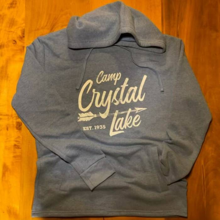 2020 Camp Crystal Lake Cozy Hooded Fleece