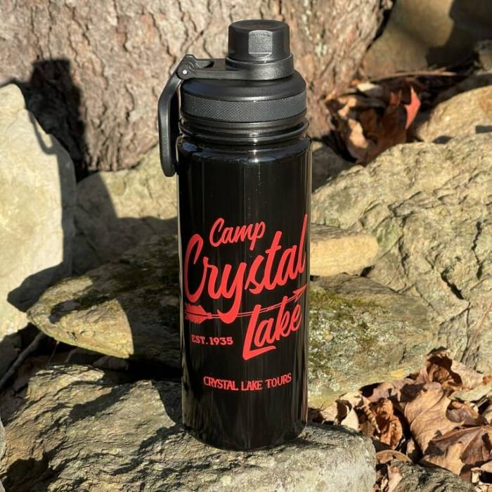 Black Camp Crystal Lake Insulated Bottle
