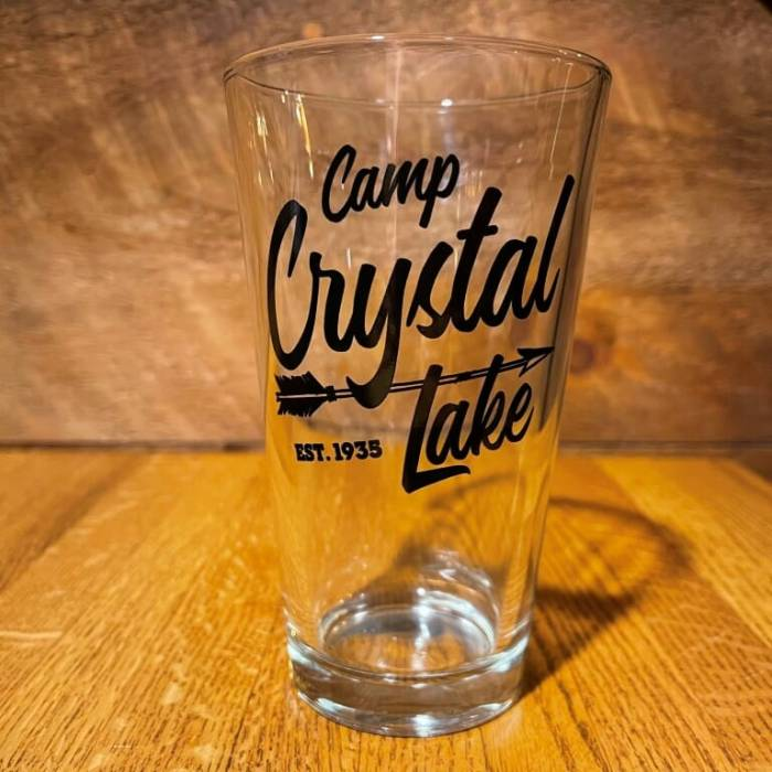 Camp Crystal Lake Pint Glass
