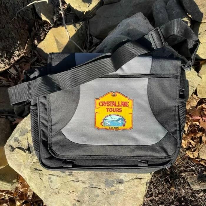 Crystal Lake Tours Messenger Bag