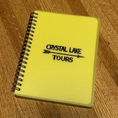Crystal Lake Tours Notepad