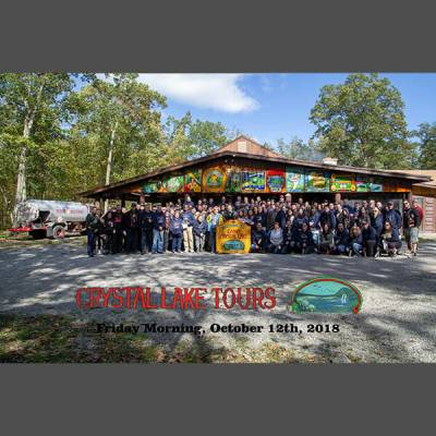 October 2018 Friday Morning Tour Group Photo w/ Sleeve