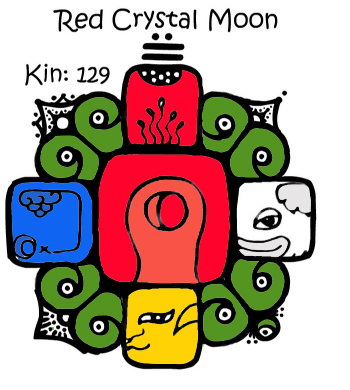 Red Crystal Moon