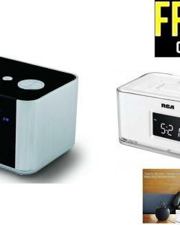 Smart Automatic Time-Setting Radio & Alarm Clock
