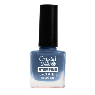 Stamping Lacquer - Chrome blue