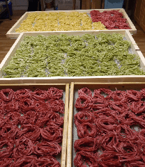 Hand made pasta