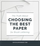 Choose-the-Best-Lettering-Paper