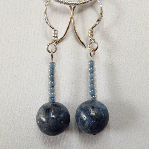 dyed_bone-seed_beads-sterling_silver-french_wire-earrings