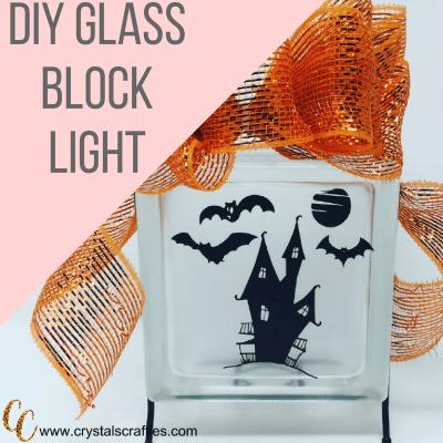 DIY Glass Block
