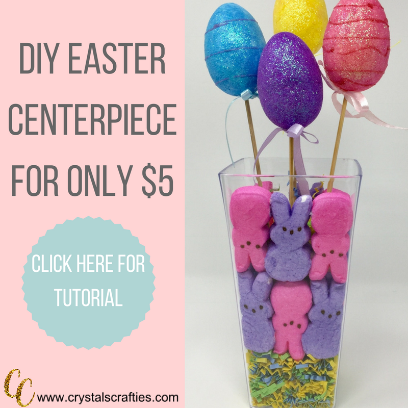 DIY Easter Centerpiece