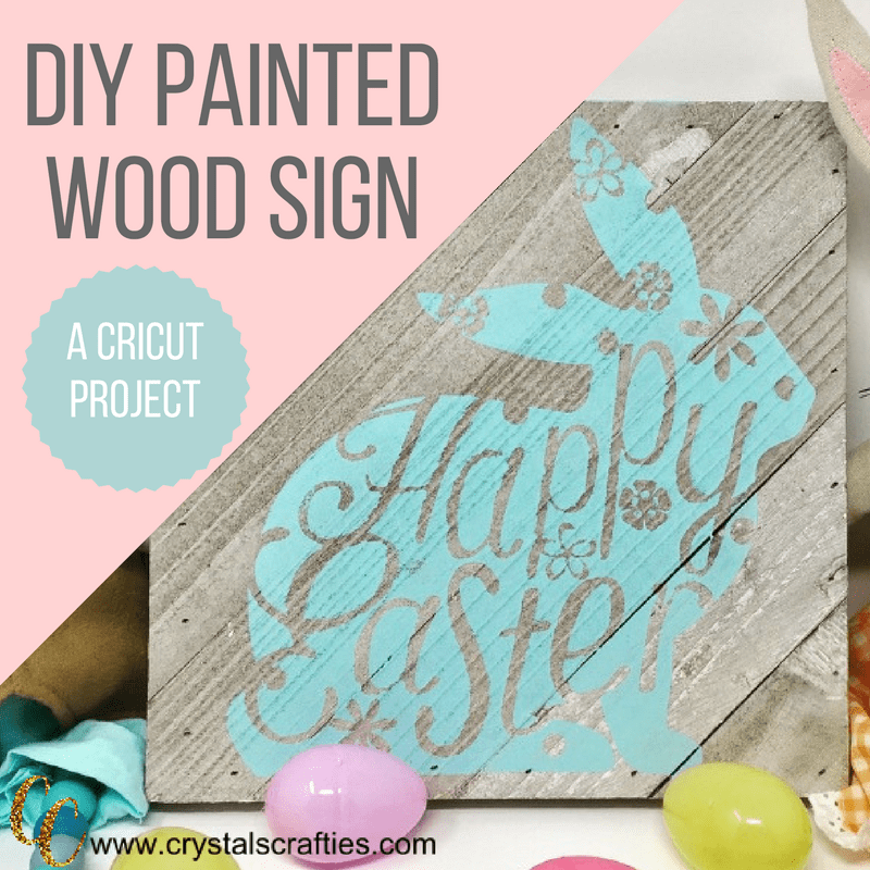 DIY Painted Wood Sign