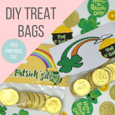 DIY St. Patrick's Day Treat Bags