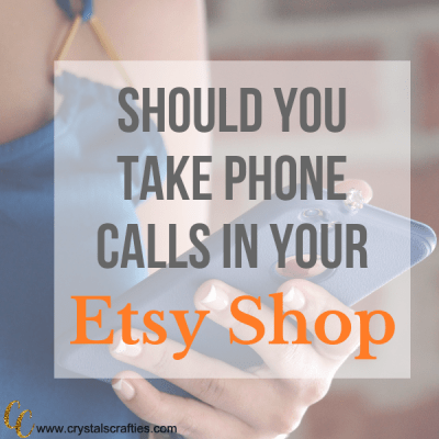 How to handle phone calls in your Etsy shop