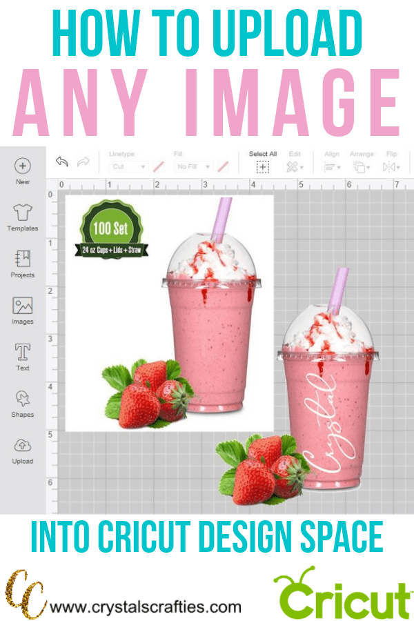 How to upload ANY IMAGE into Cricut Design Space