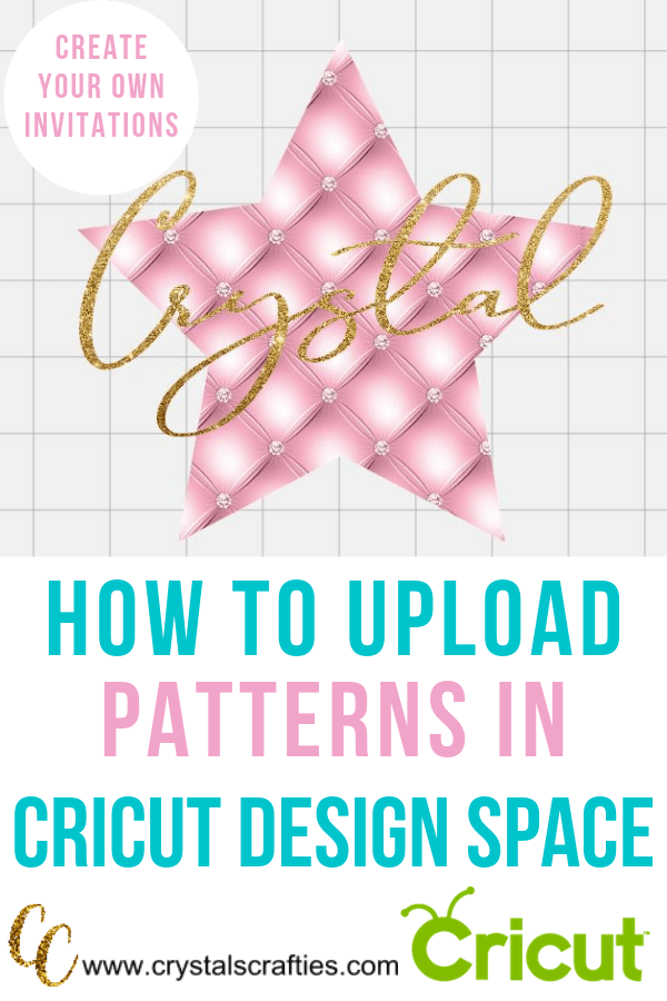 How to Upload Patterns in Cricut Design Space