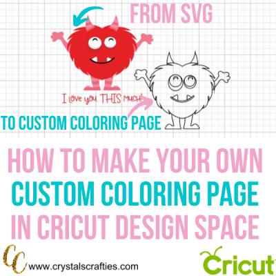How to Make Your Own Coloring Page on Cricut