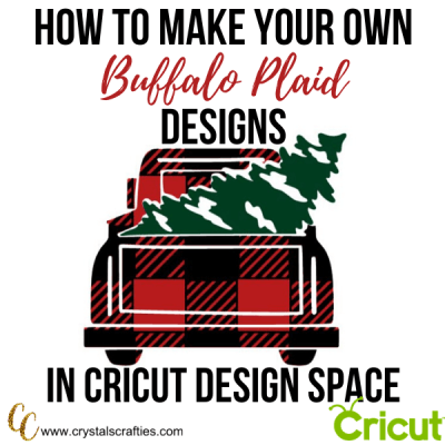 DIY Buffalo Plaid Designs in Design Space