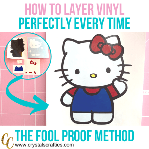 how to layer vinyl perfectly every time