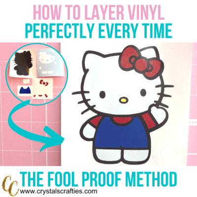 How to layer vinyl perfectly every time.