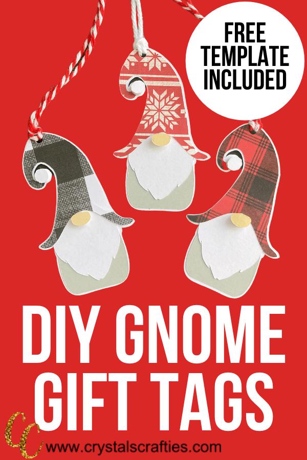 DIY Gnome Gift Tags