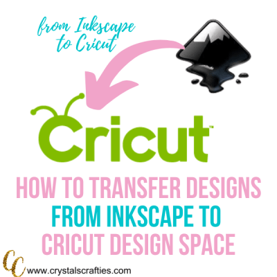 How to Transfer an Inkscape Design to Cricut Design Space