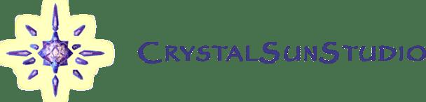 Crystal Sun Studio title logo