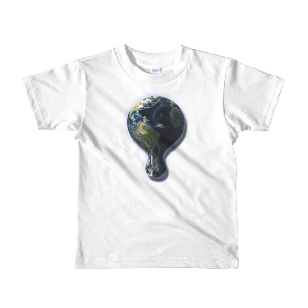 Melting Earth Tee Shirt