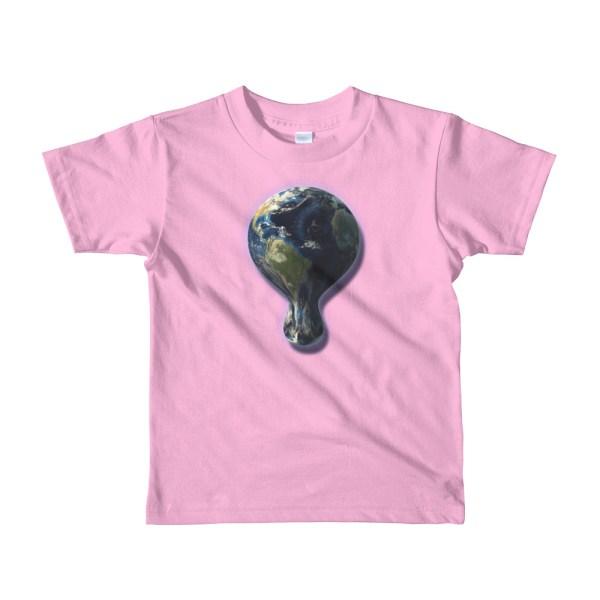 Melting Earth Tee Shirt