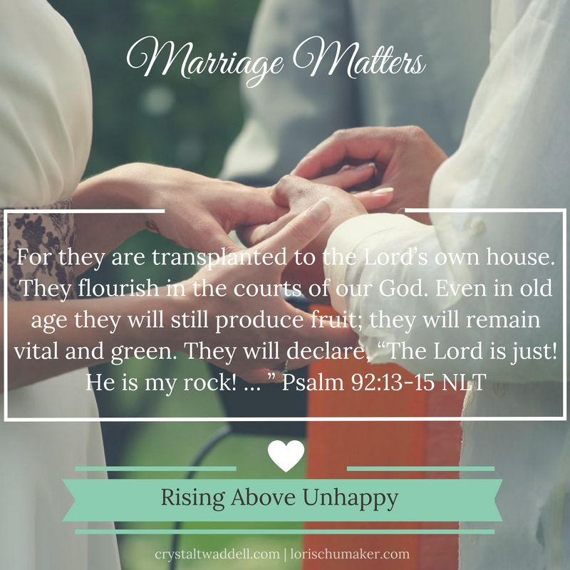 rising above unhappy marriage matters series crystal twaddell