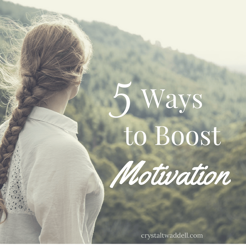 5 Ways to Boost Motivation {Fresh Market Friday