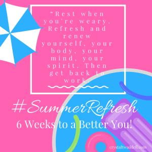#SummerRefresh Quote