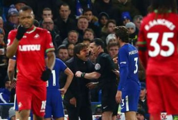 Conte charged with misconduct after dismissal against Swansea