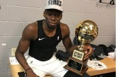 Amida Brimah drops hint on recovery from injury