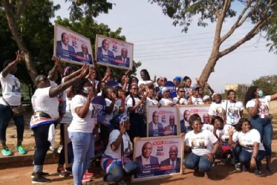 NPP Tema Central inaugurates campaign Team