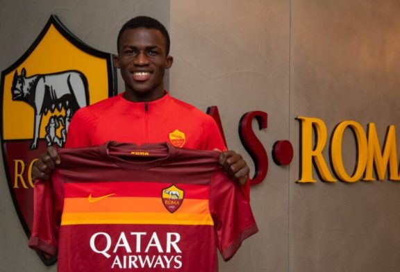Performance of Ghanaian players in Italian Youth Leagues: AS Roma's Felix Ohene Gyan stands tall