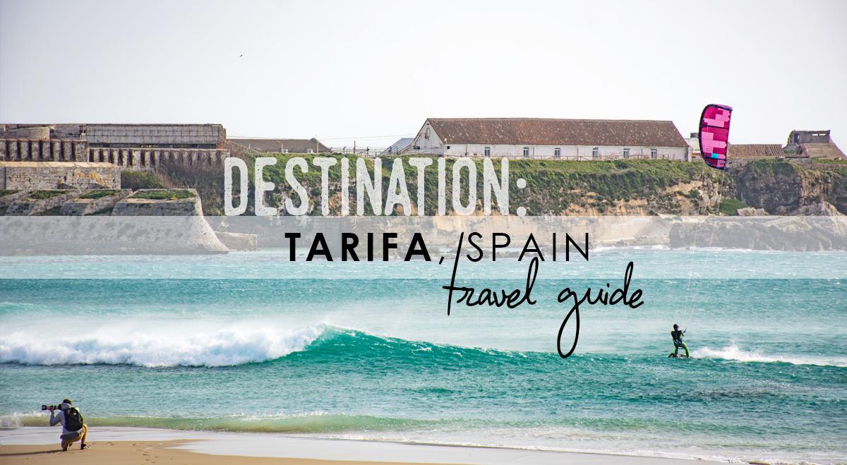 Blown away in Tarifa, Spain // TRAVEL GUIDE