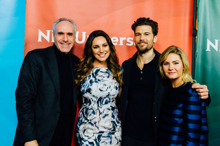 Ross Crystal, Kelly Brook, Nick Zano & Elisha Cuthbert 'One Big Happy'