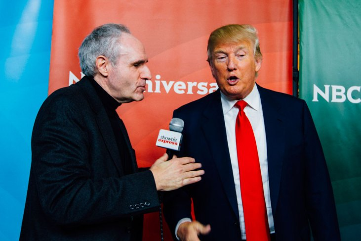 "Ross Crystal talking to Donald Trump ""Celebrity Apprentice"""