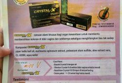 Jual Crystal X Asli di Gunung Mas