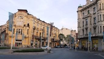Belgrade Waterfront flags - the gentrification project of Belgrade