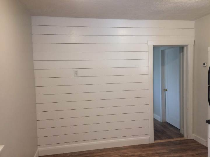The Cheapest and Easiest Way to DIY Shiplap - Crystel