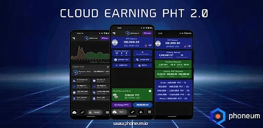 Cloud earning pht    Phoneum (PHT)